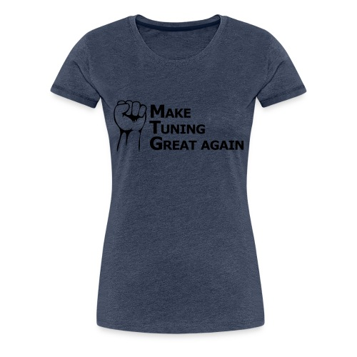 Tuning - Frauen Premium T-Shirt