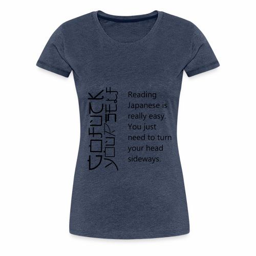 für Japaner - Frauen Premium T-Shirt