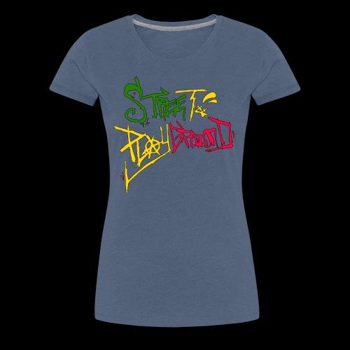 Street Playground (Tagged) - Frauen Premium T-Shirt