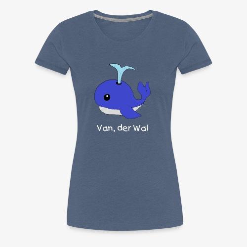 Van der Wal mit Beschriftung - Frauen Premium T-Shirt