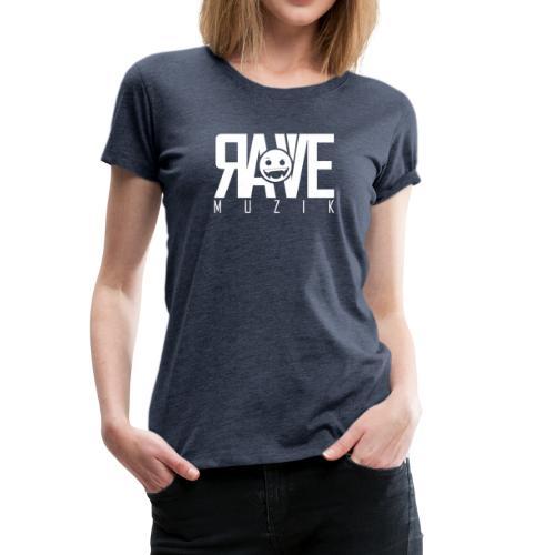 Rave MUZIK Logo Wear - Frauen Premium T-Shirt