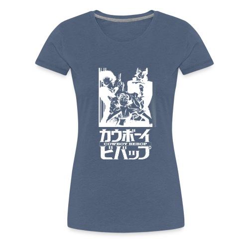 Cowboy Bebop logo - Dame premium T-shirt