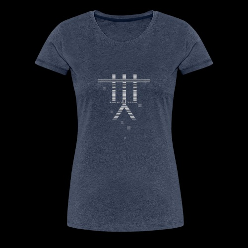 Maleu' Yasal Indigo Vendetta - Frauen Premium T-Shirt