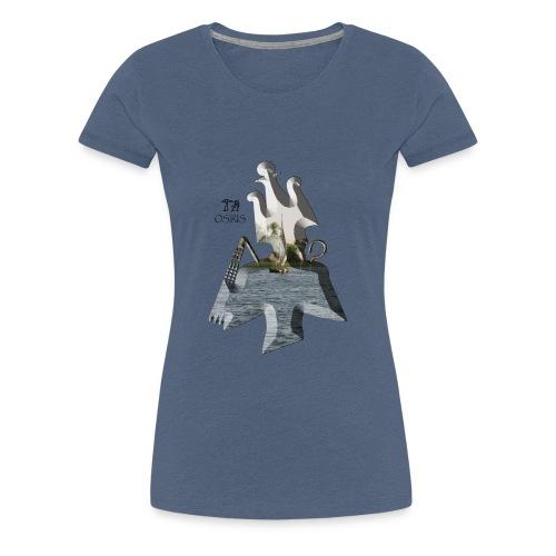 Altägyptischer Gott OSIRIS - Frauen Premium T-Shirt