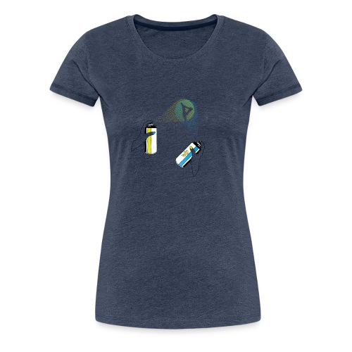 pantin spray - Frauen Premium T-Shirt
