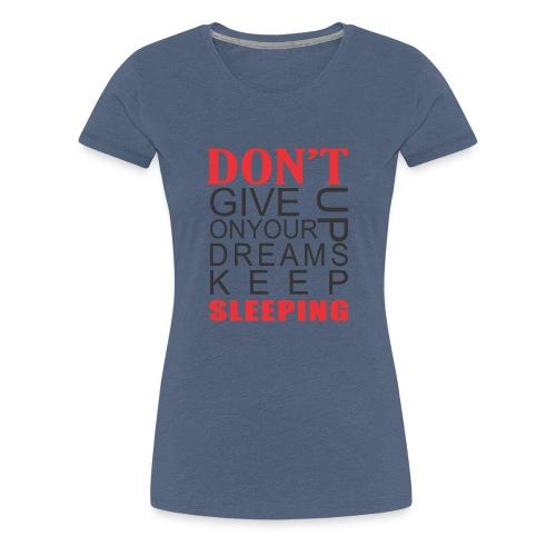 FUNNY QOUTES - Women's Premium T-Shirt