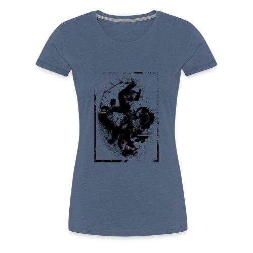 abstract4a - Women's Premium T-Shirt