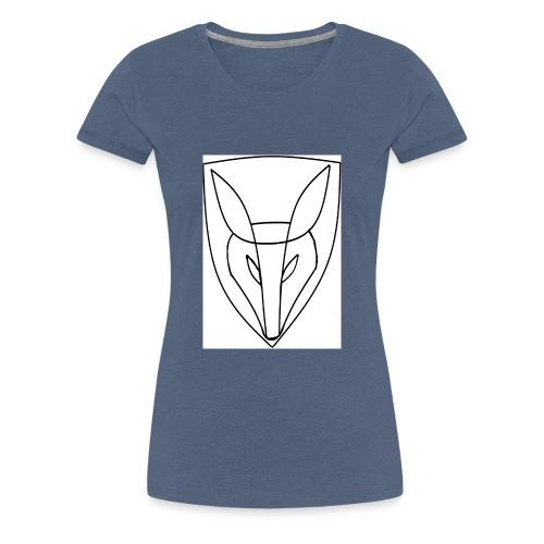 Schweigefuchs - Frauen Premium T-Shirt