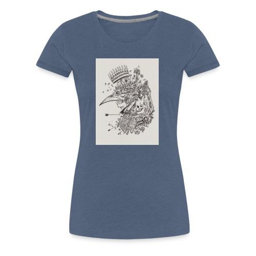 Nature de l'homme - T-shirt Premium Femme