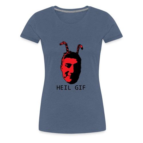 Garrett - HEIL GIF - Women's Premium T-Shirt