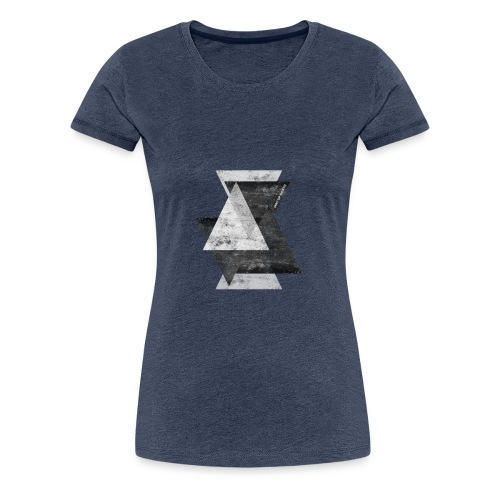 Triangles - Women's Premium T-Shirt