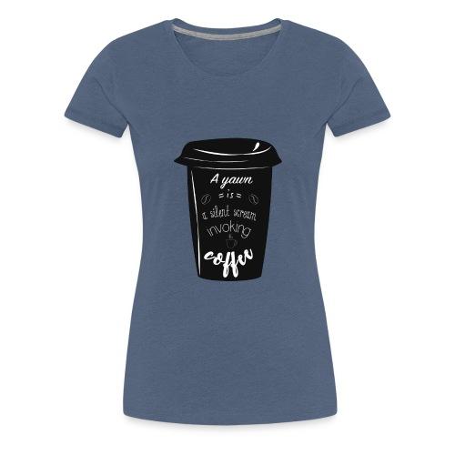 Coffee - Maglietta Premium da donna