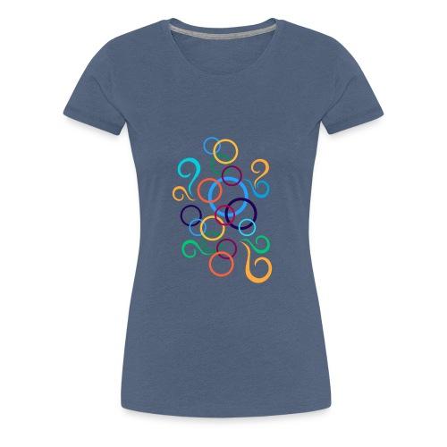 cerchi multicolore - Maglietta Premium da donna