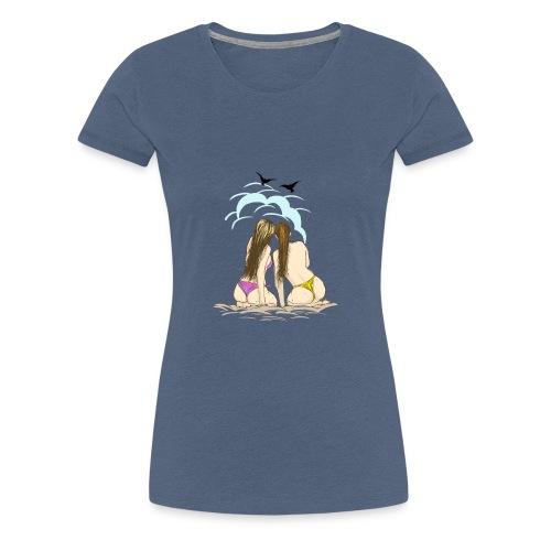 Beach Friends - Women's Premium T-Shirt