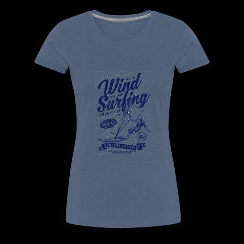 Wind Surfing - Frauen Premium T-Shirt