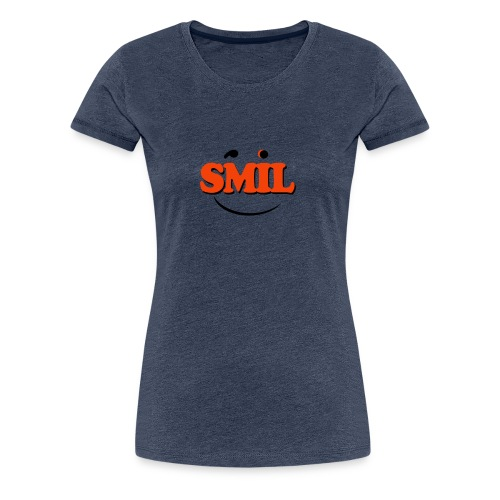 SMIL - Dame premium T-shirt