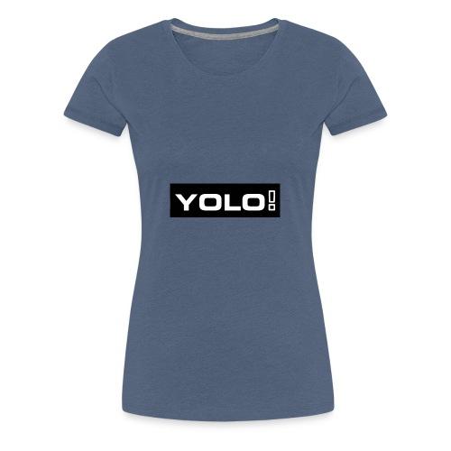 yolo gerdes - Frauen Premium T-Shirt