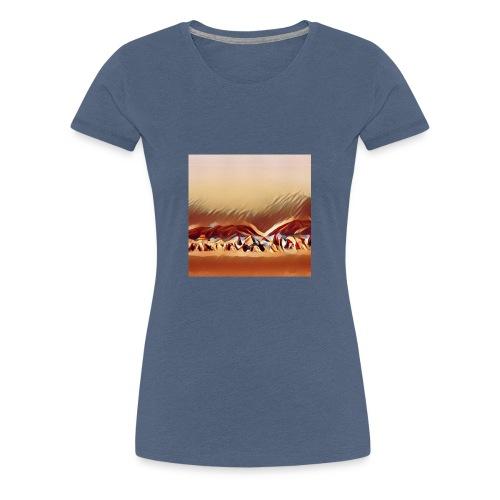 Beach in Brazil - Premium T-skjorte for kvinner