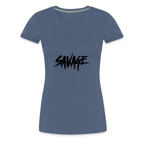 BALDER SAVAGE!!! - Premium T-skjorte for kvinner