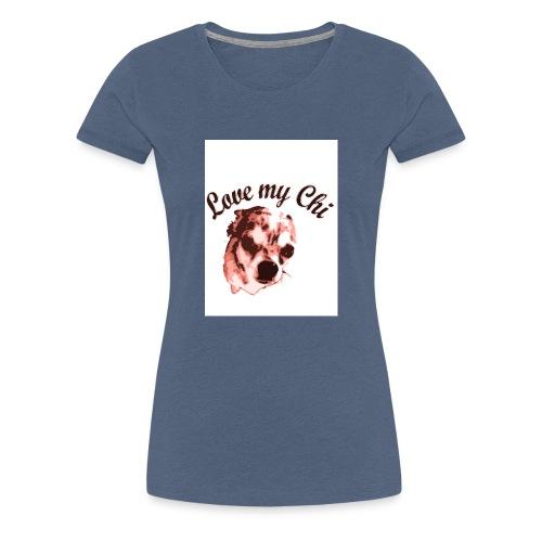 love my chi 1 - Frauen Premium T-Shirt