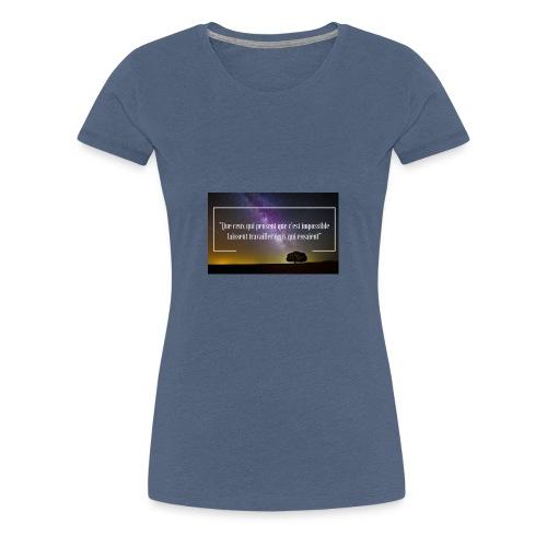 Que ceux qui pensent - T-shirt Premium Femme