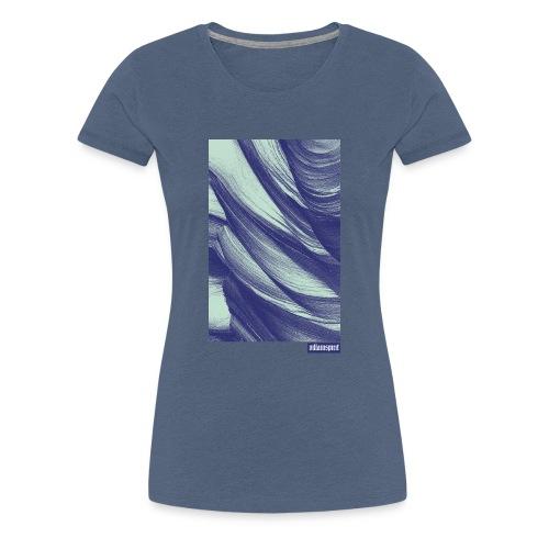 Villainspirit Struktur - Frauen Premium T-Shirt