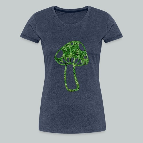 mushroom power - Frauen Premium T-Shirt