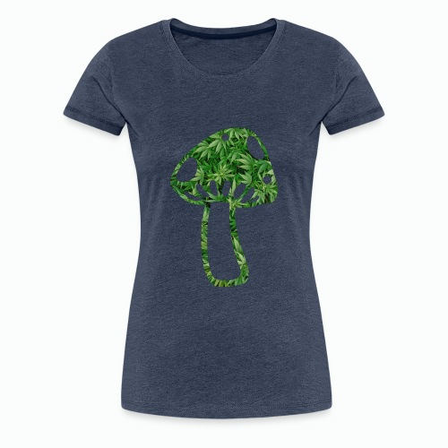mushroom power - Frauen Premium T-Shirt