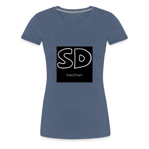 SwizzDivert Schlicht - Frauen Premium T-Shirt