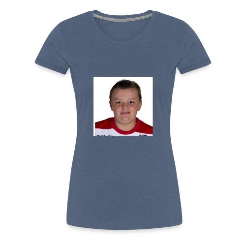 Double Chin Boy - Women's Premium T-Shirt