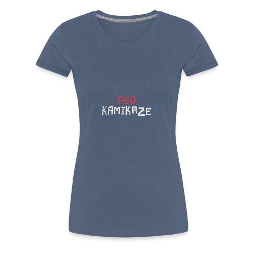 F60 Kamikaze - Frauen Premium T-Shirt