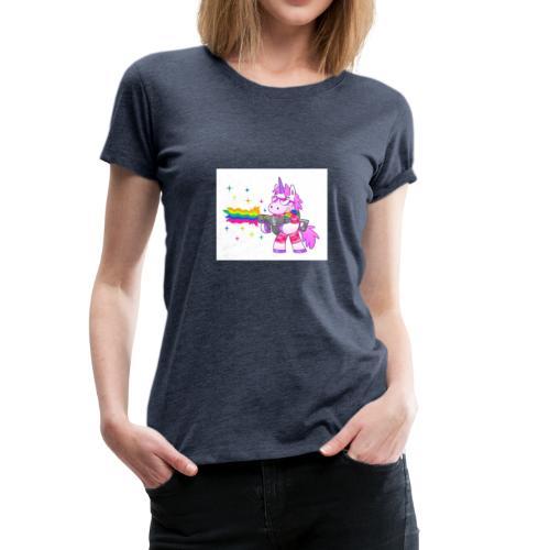 #Swag unicorns merch - Women's Premium T-Shirt