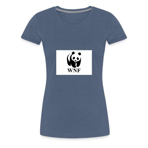 wnf logo panda - Vrouwen Premium T-shirt