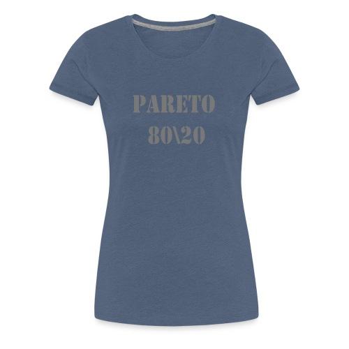 Pareto 80\20 - Frauen Premium T-Shirt