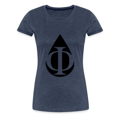 AquaPhi Logo (no-txt) - Women's Premium T-Shirt