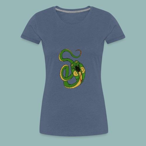 Kobra Bunt - Frauen Premium T-Shirt