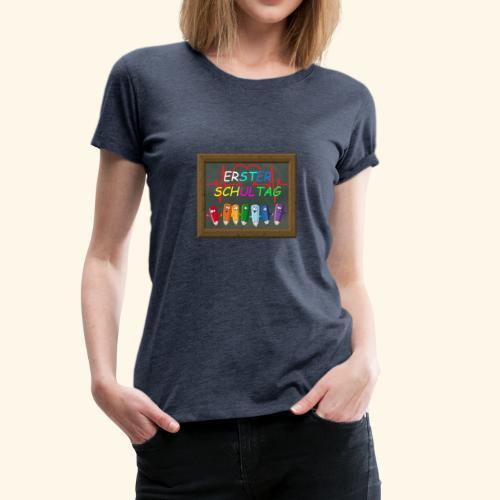 Schule - Frauen Premium T-Shirt