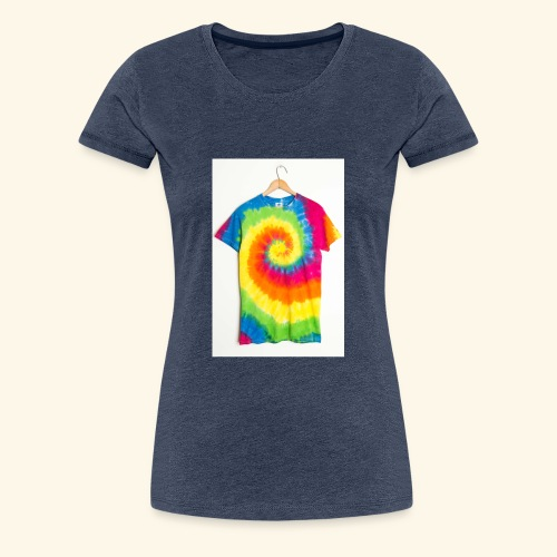 tie die - Women's Premium T-Shirt