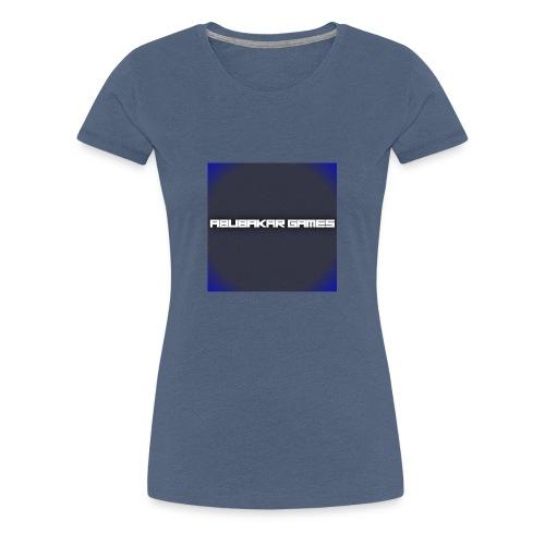 backgrounder 6 - Women's Premium T-Shirt