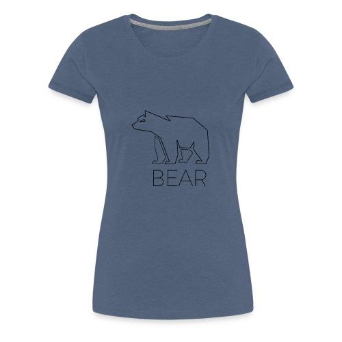 bear - Frauen Premium T-Shirt