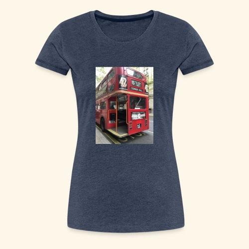 * LIMITED TIME * London Bus - Women's Premium T-Shirt