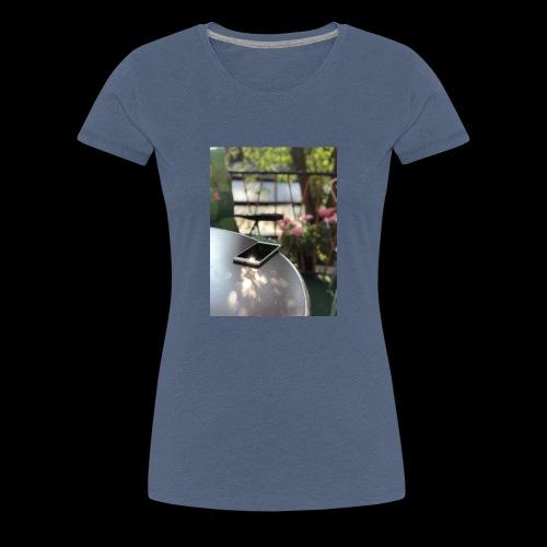 Handypräsentation - Frauen Premium T-Shirt