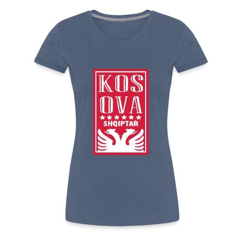 shqiptar design kosova - Frauen Premium T-Shirt