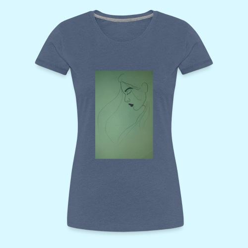 side profile - Women's Premium T-Shirt