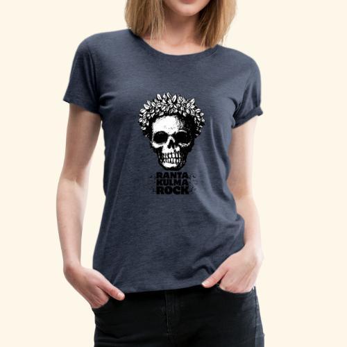 Skulli ja Rantakulmarock - Naisten premium t-paita