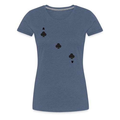as de trèfle - T-shirt Premium Femme