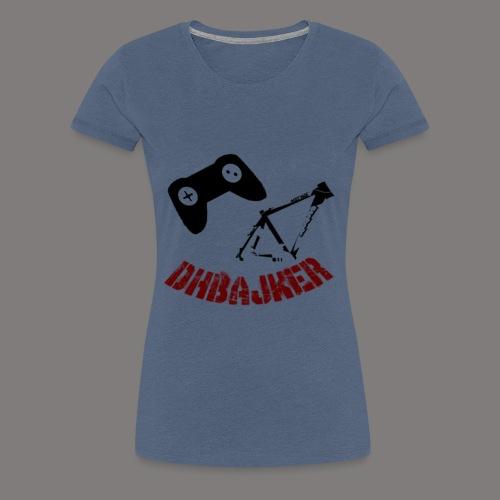 dhbajker logo - Frauen Premium T-Shirt