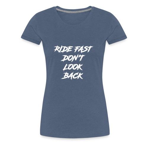 Roule Vite - T-shirt Premium Femme