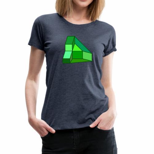 Gruen - Frauen Premium T-Shirt