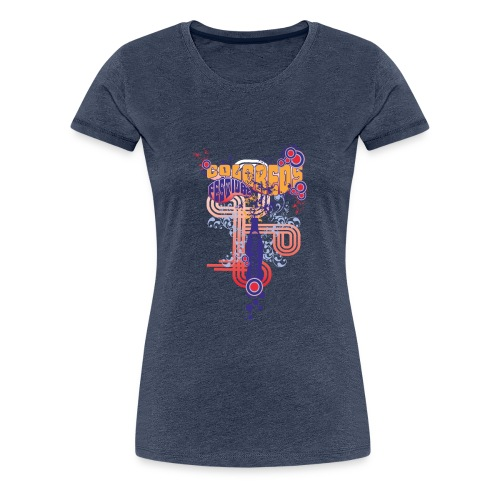 FESTIVAL DANCE / coloreos Hermoso diseño - Camiseta premium mujer